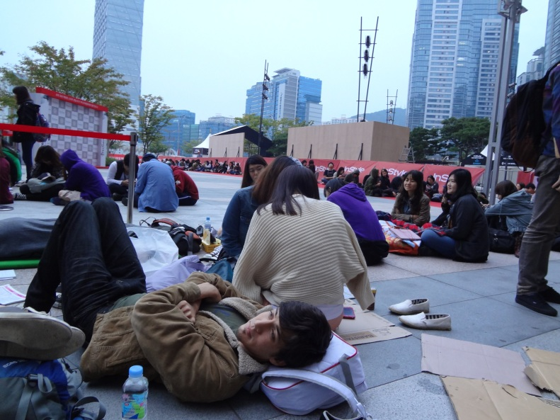 Urban Camping in Busan